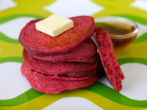 Beet-Pancakes