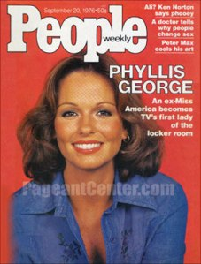 Phyllis George, Miss America 1971